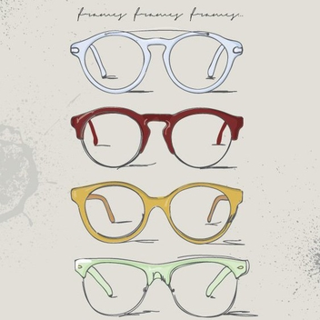 Eye Frames - vector gratuit #207415