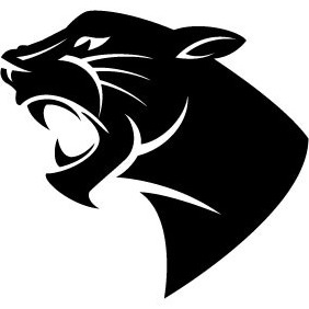 free panthers logo vector set free vector download 442751 cannypic