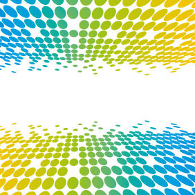 Colorful Dots Vector Background - vector #207505 gratis