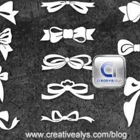 Bows Vector Collection - Free vector #207545