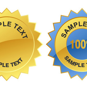 Vector Guarantee Labels - Free vector #207675