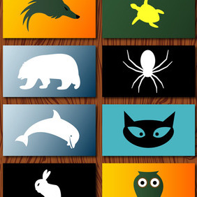 Vector Animal Logos - vector #207745 gratis