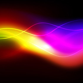 Glowing Vector Background - vector #207985 gratis