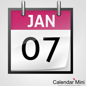 Calendar Mini - vector #208165 gratis