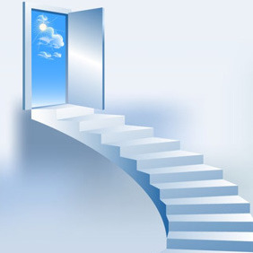 Stairway Illustration - Free vector #208185