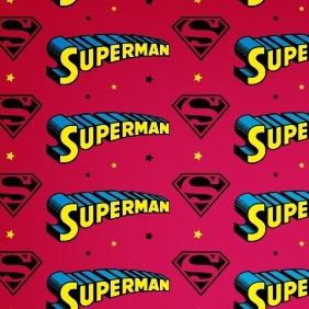 A Free Superman Seamless Vector Pattern - vector gratuit #208215