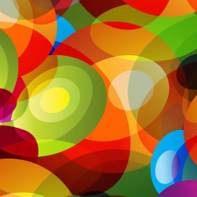Colorful Psychodelia Background - Free vector #208265