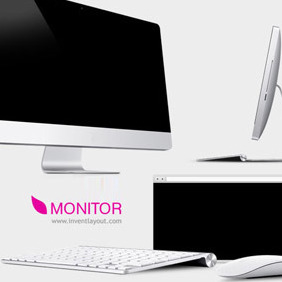 Monitors - vector #208305 gratis