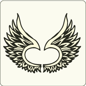 Wings 4 - vector #208825 gratis