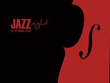 Jazz Night Poster - vector gratuit #209185