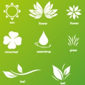 Nature-Pack - vector gratuit #209255