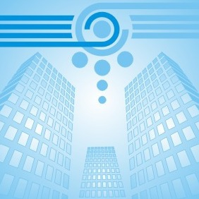 Business Buildings - vector gratuit #209285