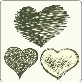Hearts Set 3 - Free vector #209495