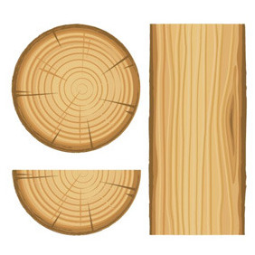 Wood Illustration Vector - Kostenloses vector #209735