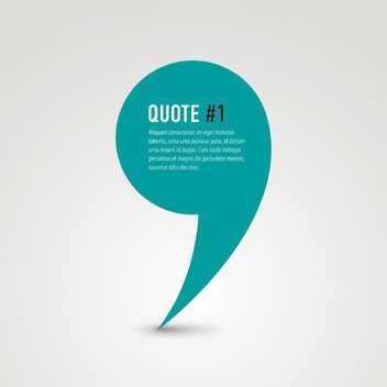 Quote - vector gratuit #209945