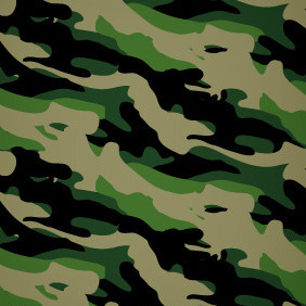 Army Camouflage Seamless Vector Pattern - бесплатный vector #210035