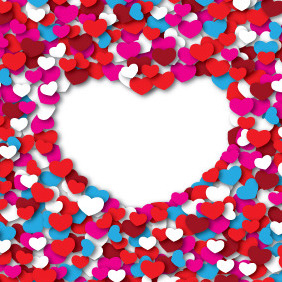 Heart Of Hearts - Free vector #210495