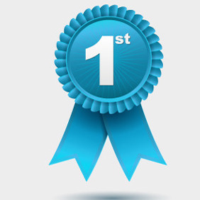 Free Vector Award Ribbon - Free vector #210655