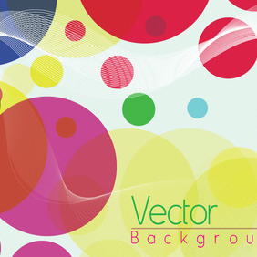 Cool Bokeh Abstract Free Vector - бесплатный vector #211315