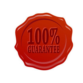 100% Guarantee Badge - Kostenloses vector #211785