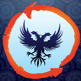 Double Headed Eagle - vector gratuit #211925
