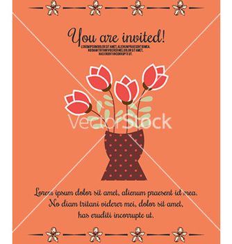 Free with wedding and flowers vector - Free vector #212025