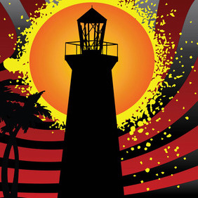 Lighthouse - vector gratuit #212075