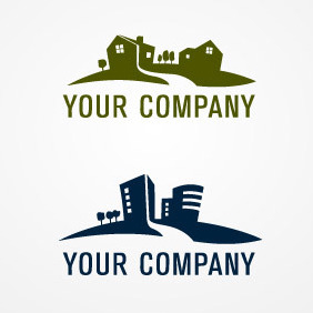 Real Estate Logo 02 - Free vector #212105