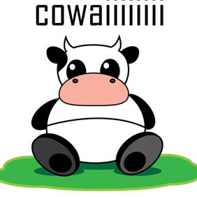 Free Vector Graphic Cow - Kostenloses vector #212335