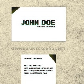 Business Card For Graphic Designers - Kostenloses vector #212725