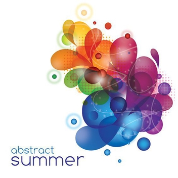 Abstract Summer - vector #212975 gratis