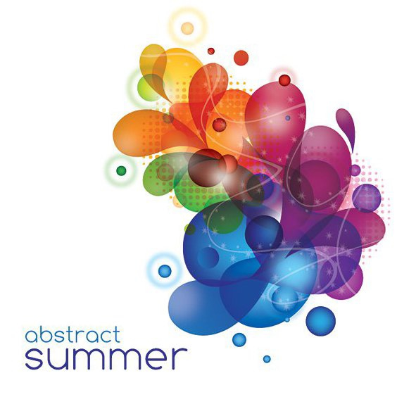 Abstract Summer - Free vector #212975