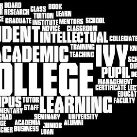 Education Word Cloud 2 - vector gratuit #213005