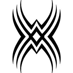 Tribal Tattoo Vector VP - vector #213035 gratis