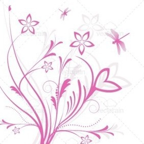 Floral Illustration - vector #213105 gratis