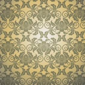 Seamless Floral Pattern Vector - бесплатный vector #213185