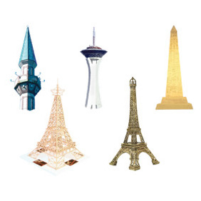 Vector Famous Landmarks - Free vector #213215