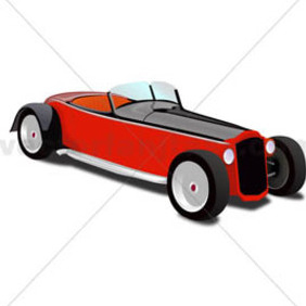 Hot Rod Coupe - vector #213655 gratis