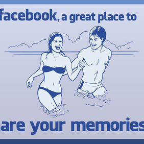 Facebook Share - Free vector #213725