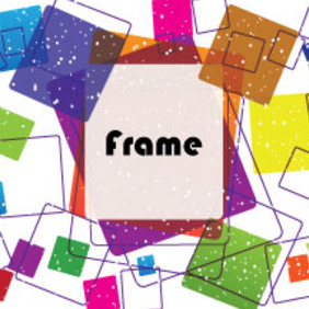 Colored Dotted Frame Free Design Graphic - Kostenloses vector #213785