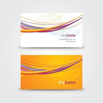 Vector Business Card - vector gratuit #213875