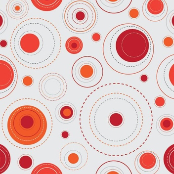 Red Dots Background - Kostenloses vector #213985