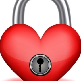 Love Lock - vector gratuit #214025