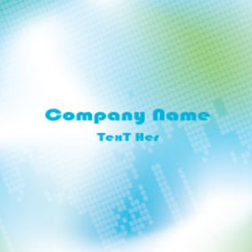 Abstract Company Card Free Vector Graphic - Free vector #214385