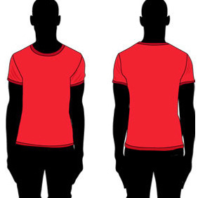 FREE VECTOR T-SHIRT TEMPLATE - vector #214455 gratis