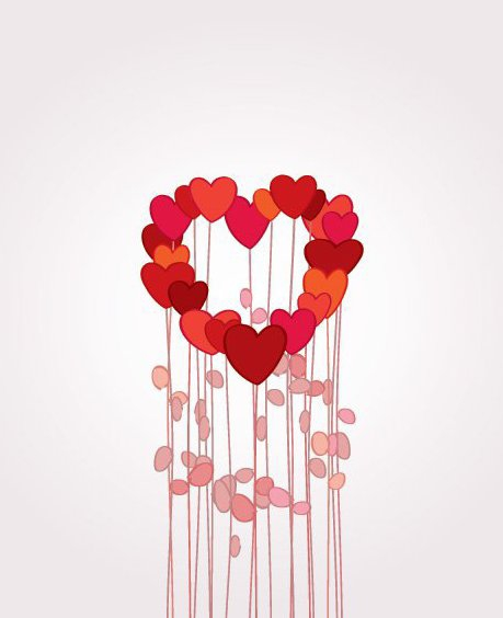 Flowers in Love - Free vector #214465