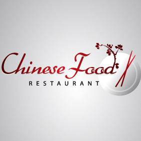 Chinese Food Logo - vector gratuit #214705