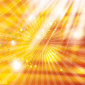 Abstract Golden Background With White Light - Free vector #214725