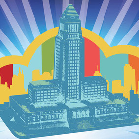 City Hall Vector - vector #214785 gratis