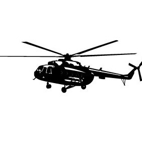 Helicopter Free Vector - vector gratuit #214875